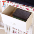 TT-IB005 wooden ironing board in cabinet with clothes rack