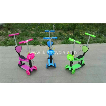 2017 New 120mm Light Wheels Child Scooters