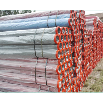 Concrete pump deck pipe