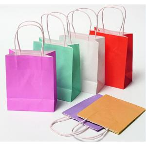 China Supplier for Custom Kraft Paper Bag Twisted Kraft Paper Bags supply to Germany Wholesale