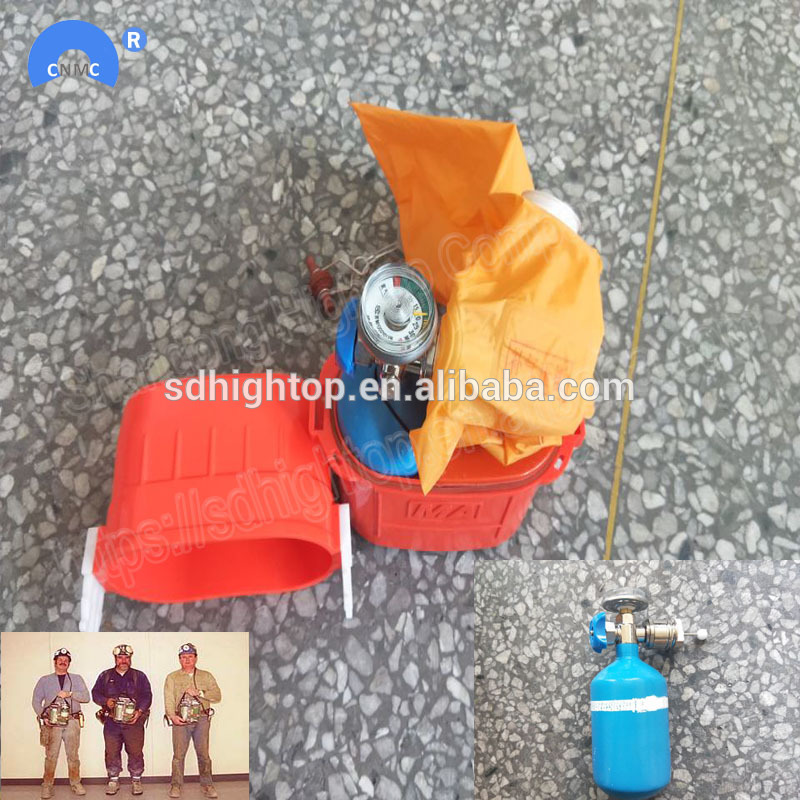 60 minutes isolated oxygen mining self contained rescuer