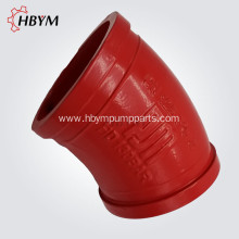 30Degree Concrete Pump Casting Elbow