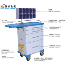 Multi purpose anesthetic vehicles cart