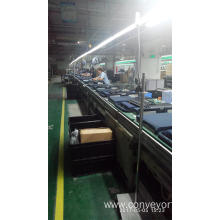 China for Chain Conveyor System Free Flow Chain Pallet Handing Conveyors supply to United States Manufacturers