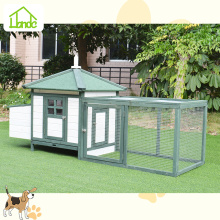 Perfect outdoor green chicken coop