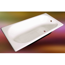 Cheap Classic White Simple Drop-In Acrylic Bathtub