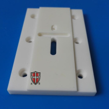 OEM manufacturer custom for Machinable Ceramic Filter ceramic laser cutting micro holes thin substrate plate export to France Manufacturer