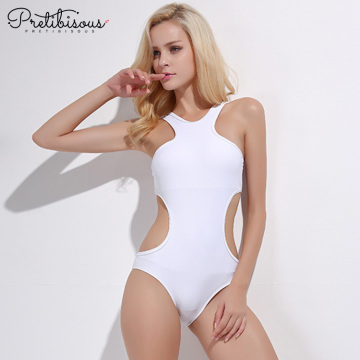 Sexy plus size one piece swimsuit for women