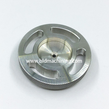 Diamond Knurling Aluminum Parts and Accessories Machining