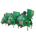 Electric rotating drum mixer JZC350 with lifting hopper