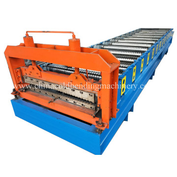 Steel Metal Corrugated Roller Machine