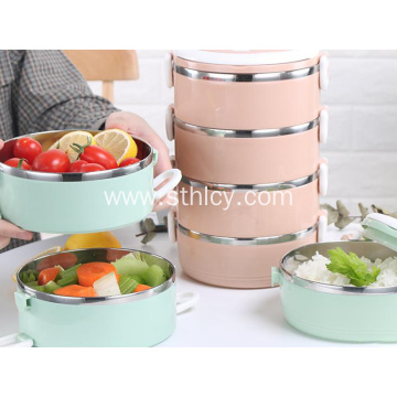 304 Stainless Steel Insulated Rice Creative Lunch Box