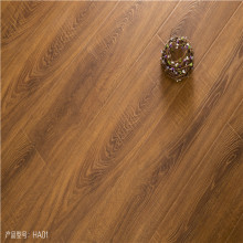 walnut color wood grain 12mm laminate flooring