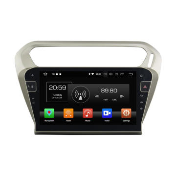 Car Multimedia Navigation System for PG301 2013-2016