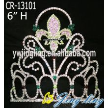 Rhinestone Wholesale Pageant Crown For Sale