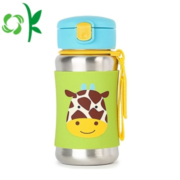 Silicone Water Bottle Printing Sleeve Silicone Bottle Cover
