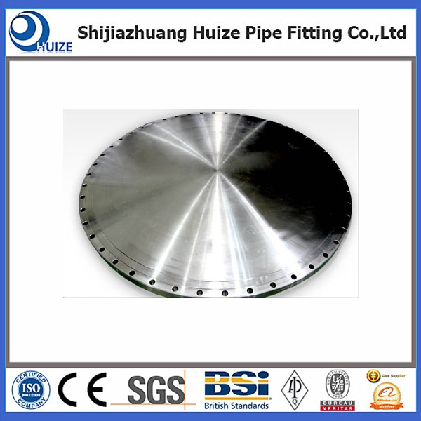 SS Steel B 16.5 BL Flange with RF Face Type