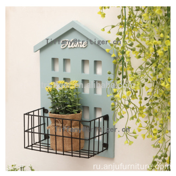 Factory wooden decorative floating home wall shelf