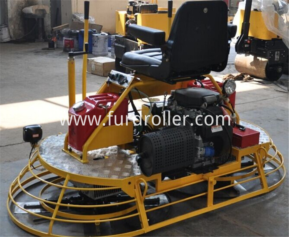 Ride-on Power Trowel Machine