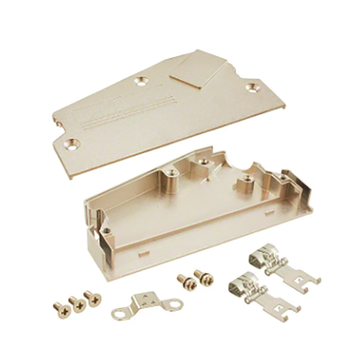 1.27mm Series Shielded Backshell Kits 100P Angled Exit
