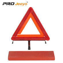 60 LED flashing light warning triangle