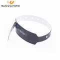 Waterproof PVC Hospital Id Tag Rfid Medical Bracelet