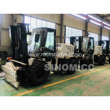 3.5 Tons AWD Rough Terrain Forklift CPCY35