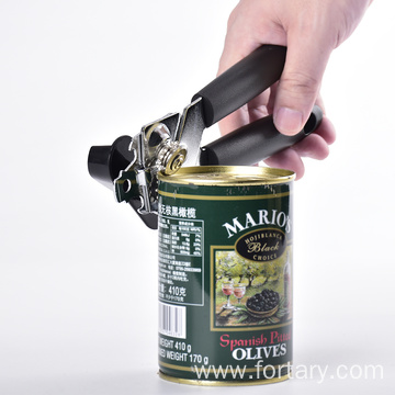 New colorful handle manual tin opener