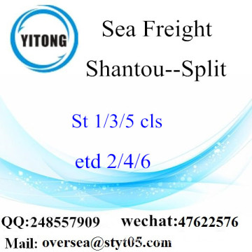 Shantou Port LCL Consolidation To Split