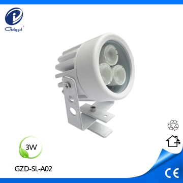 Mini type aluminum outdoor 3W spot lighting