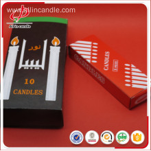 Factory making for Wedding Candle Thick Lighting Exported Black Paper Box White Candle export to France Importers