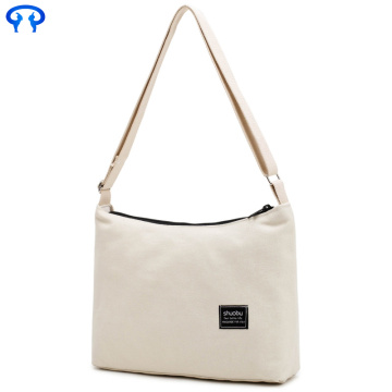 Zipper ebay decorative canvas bag