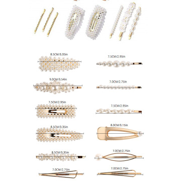 Acetic acid hairpin pearl hairpin set
