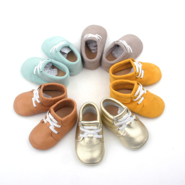 Wholesale Toddler Shoes Leather Children Soft Casual Shoes