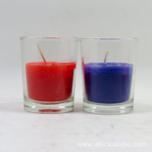 Wholesale Personalized Custom Colored Glass Jar Candle