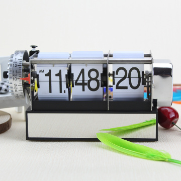 Dynamic Alarm Flip Clock for Decor