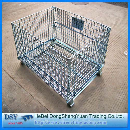 Hot Dip Galvanized Warehouse Storage Container