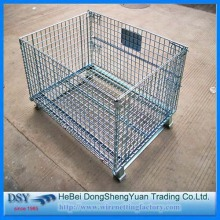 Welded Galvanized Metal Storage Cages