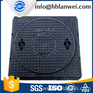 Hot Sale for Cast Iron Circle Manhole Cover,Heavy Duty Ductile Manhole Cover Manufacturer in China square ductile iron manhole cover export to French Polynesia Factories