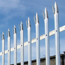 factory low price Used for High Quality Palisade steel fence Hot sale palisade fence export to Bolivia Manufacturer