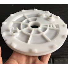 Machined Derlin Acetal Plastic Wheel Roller Gears POM