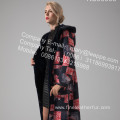 Winter Reversible Long Women Merino Shearling Coat
