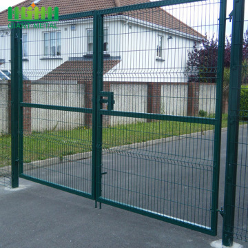 Hot Sale Welded Double Fence Gate for Garden