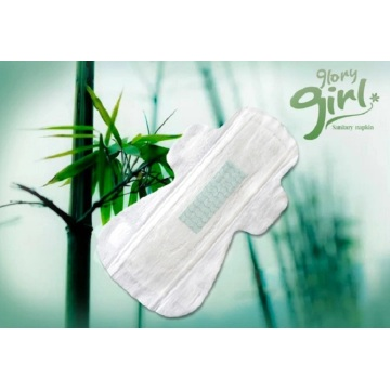 Breathable bamboo sanitary pads