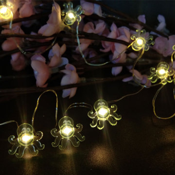 Led Fairy Light with octopus