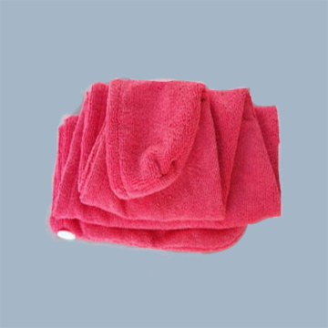 microfiber hair towel with private label