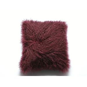 Long Hair Mongolian Lamb Curly Fur Cushion