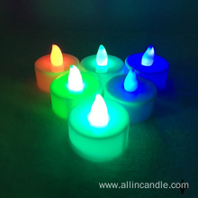 Warm light best battery led tealight candle