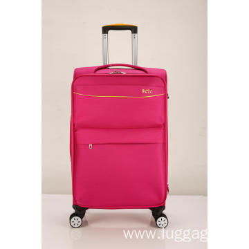 Expandable Soft pink Luggage