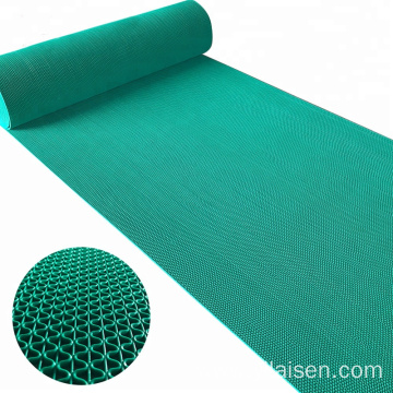 PVC S mesh anti slip mat bathroom use